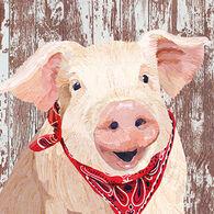 Paperproducts Design Charlotte Pig Beverage Napkin