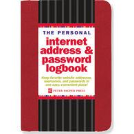 Internet Address & Password Logbook by Peter Pauper Press