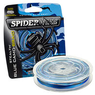 SpiderWire Stealth Blue Camo Braid Saltwater Fishing Line - 200 Yards