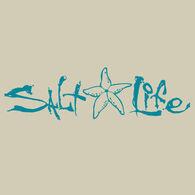 Salt Life Signature Starfish Decal - Teal