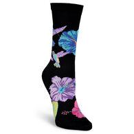 K. Bell Women's Hummingbirds Crew Sock