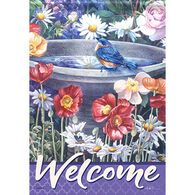 Carson Home Accents Garden Reflections Garden Flag