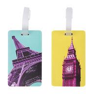 Travelon Paris & London Luggage Tag - 2 Pk.