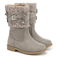Rachel Shoes Toddler Girls' Kimmy Knit Cuff Boot