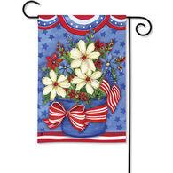 BreezeArt American Beauty Decorative Garden Flag