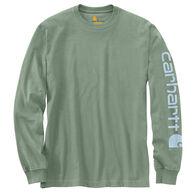 Carhartt Men's Big & Tall Graphic Logo Long-Sleeve T-Shirt
