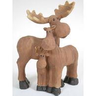 Slifka Sales Co Moose Family Figurine