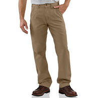 Carhartt Men's Canvas Khaki Relaxed Fit Pant