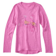 Carhartt Girls' Forest Deer Long-Sleeve T-Shirt