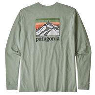 Patagonia Men's Line Logo Ridge Pocket Responsibili-tee Long-Sleeve T-Shirt