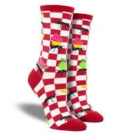 Socksmith Design Women's Picnics Make Me Antsy Crew Sock