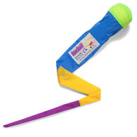 Cassidy Labs Foxtail Softie Swing-n-Throw Toy