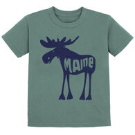 Lakeshirts Toddler Roddy Reego Moose Short-Sleeve T-Shirt