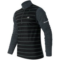 New Balance Men's Performance Merino Half Zip Pullover