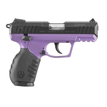 Ruger SR22 Purple Polymer / Black Anodized 22 LR 3.5 10-Round Pistol