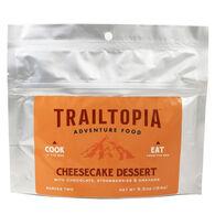 Trailtopia Chocolate Strawberry Cheesecake Dessert - 2 Servings