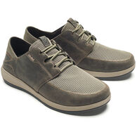 OluKai Men's Makia Lace Leather Shoe