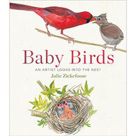 Baby Birds: An Artist Looks into the Nest by Julie Zickefoose