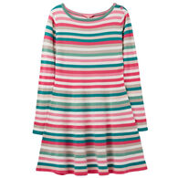 Joules Girl's Janey Knit Skater Dress