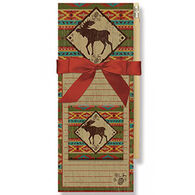 Cape Shore Moose Camp Blankets Magnetic Pad Gift Set