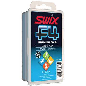 Swix F4 Premium Cold Glide Rub On Wax - 60g.