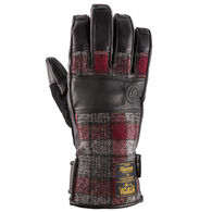 Swany Men's Eli Leather and Woolrich Fabric Glove