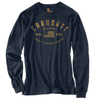 Carhartt Men's Relaxed Fit Midweight Legendary Graphic Long-Sleeve T-Shirt