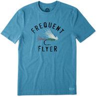 389e0f86d64a4 Life is Good Men s Frequent Flyer Crusher Short-Sleeve T-Shirt