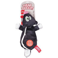 Hear Doggy Flattie Skunk Ultrasonic Dog Toy