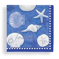 Cape Shore Blue Water Shells Napkin
