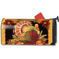 MailWraps Thankful Turkey Magnetic Mailbox Cover