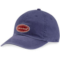 Life is Good Men's LIG Oval Chill Cap - Darkest Blue