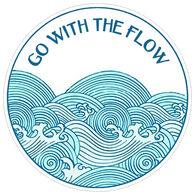 Sticker Cabana Go With The Flow Sticker
