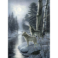 Outset Media Jigsaw Puzzle - Wolves by Moonlight