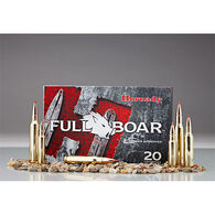 Hornady Full Boar 300 Winchester Magnum 165 Grain GMX Rifle Ammo (20)