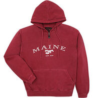 Austins Men's Maine Lobster Hooded Sweatshirt