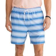 Southern Tide Men's Gradient Stripe Swim Trunk