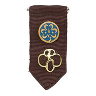 Girl Scouts Official Brownie Insignia Tab