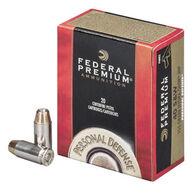 Federal Premium Personal Defense 40 Smith & Wesson 180 Grain Hydra-Shok JHP Handgun Ammo (20)