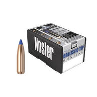 "Nosler Ballistic Tip 25 Cal. 100 Grain .257"" Spitzer Point / Blue Tip Rifle Bullet (50)"