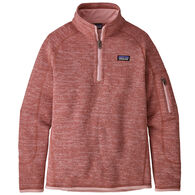 Patagonia Girl's Better Sweater 1/4-Zip Long-Sleeve Fleece Shirt