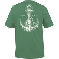 Salt Life Men's Octo Anchor Pocket Short-Sleeve T-Shirt