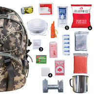 ReadyWise Camo 64-Piece Survival Backpack