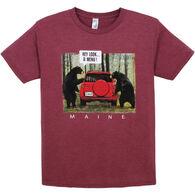 The Duck Co. Men's Bear Menu Short-Sleeve T-Shirt