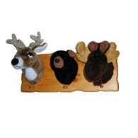 Fairgame Wildlife Trophies Tiny Trio Cap Rack