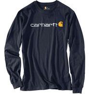 Carhartt Men's Logo Long-Sleeve T-Shirt