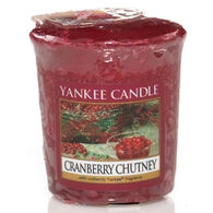Yankee Candle Sampler Votive Candle - Cranberry Chutney