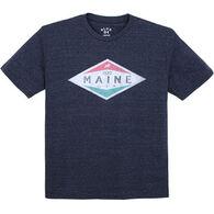 Lakeshirts Men's Blue 84 Walk Moose Short-Sleeve T-Shirt