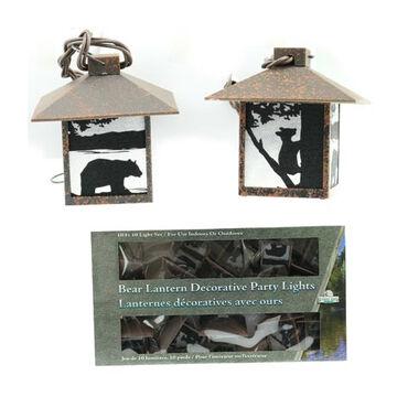 Wilcor Bear Lantern Decorative Party Light Set