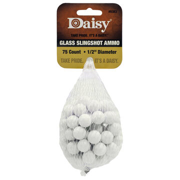 Daisy PowerLine Glass Slingshot Ammo (75)